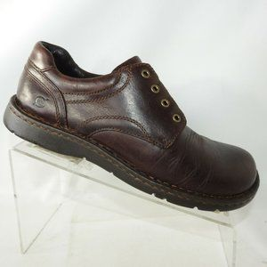 Born Size 8.5 M Brown Leather Derby Mens R4B27
